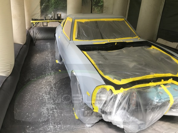 portable spray booth for cars 280z